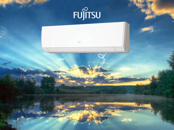 Fujitsu inverteres klíma friss és tiszta levegő
