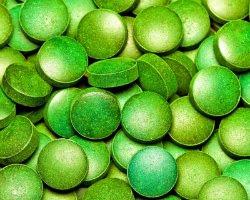 Bio Spirulina alga tabletta