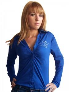 Női kék ing