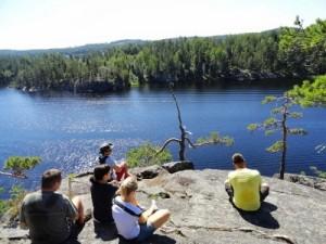 Finnország vízitúra