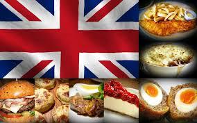 Angol ételek