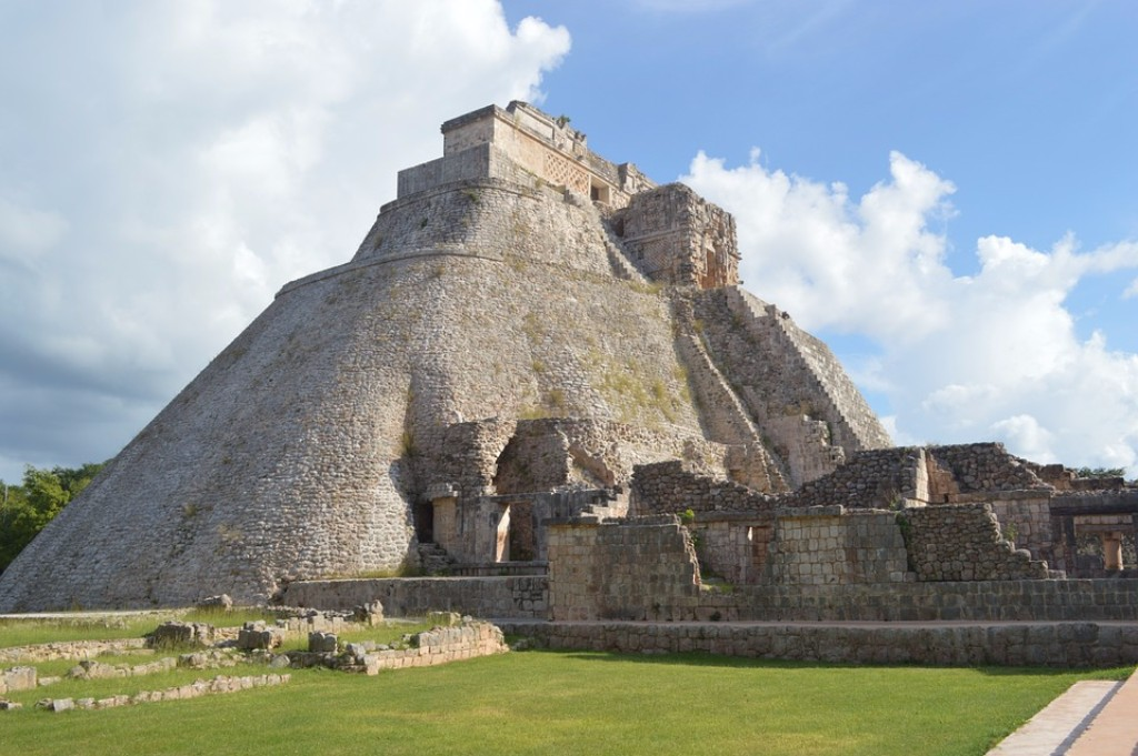 Maja romok Mexikóban
